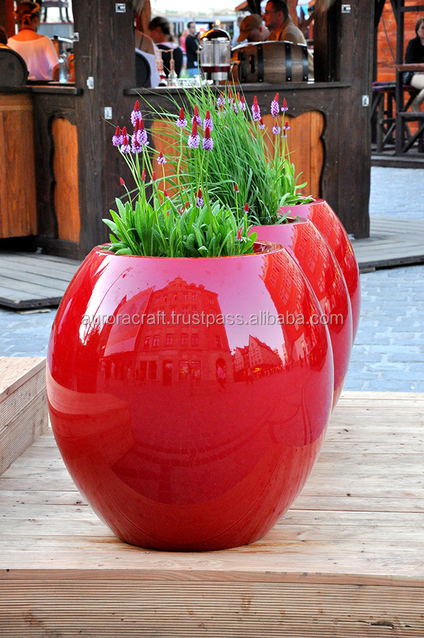 Composite Pot Fiberglass Planter Best selling