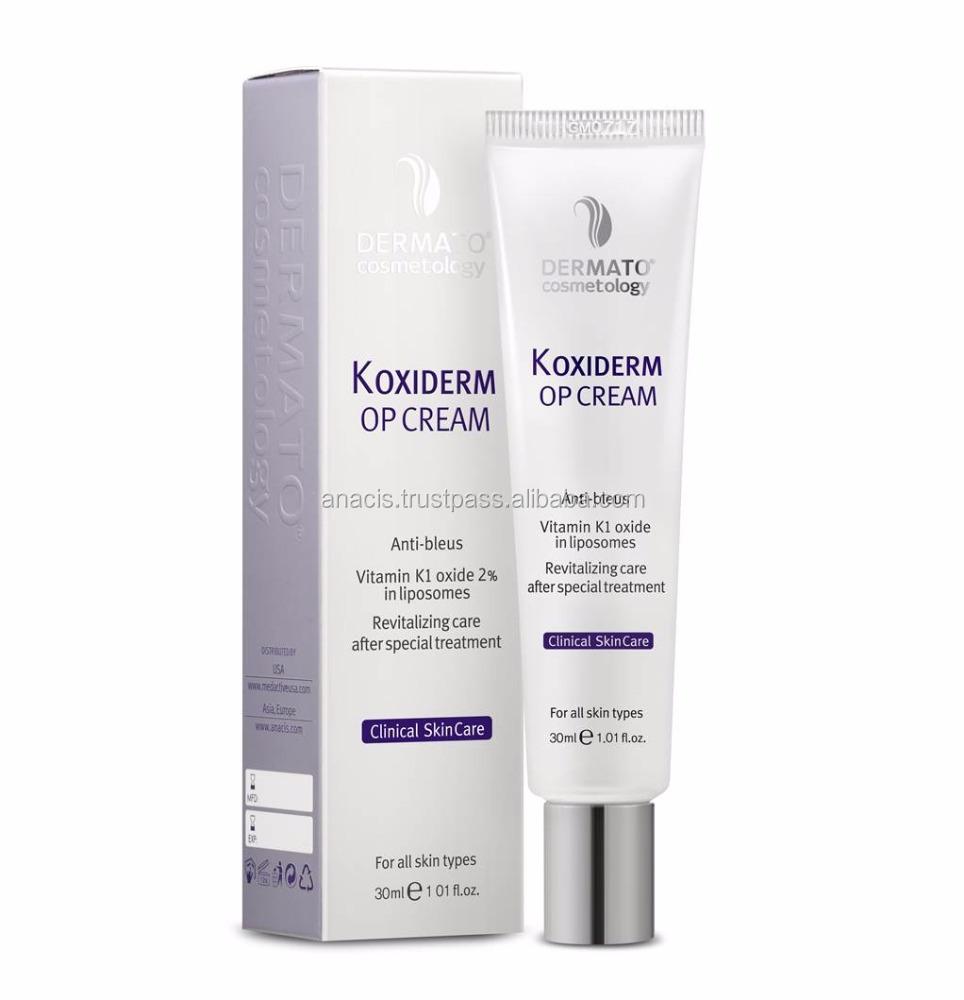 K Oxiderm Op Cream Vitamin K1oxide For Rosacea Purpura Treatment Post Cosmetic Surgery Care Buy Petechia Rosacea Treatment Purpura Treatment Product On Alibaba Com
