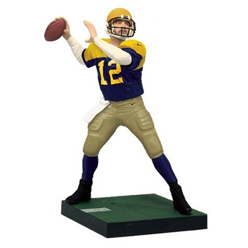 40ab8f2811673 Get Quotations · NFL Madden 17 UT Series 2 Aaron Rodgers ACME Packers Figure