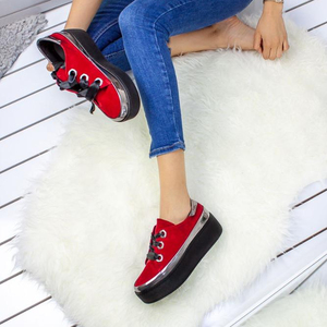 2019 New Women Fashion Boots Autumn Winter Red Suede Leather Boot Ankle Boot superior quality made best price in Turkey