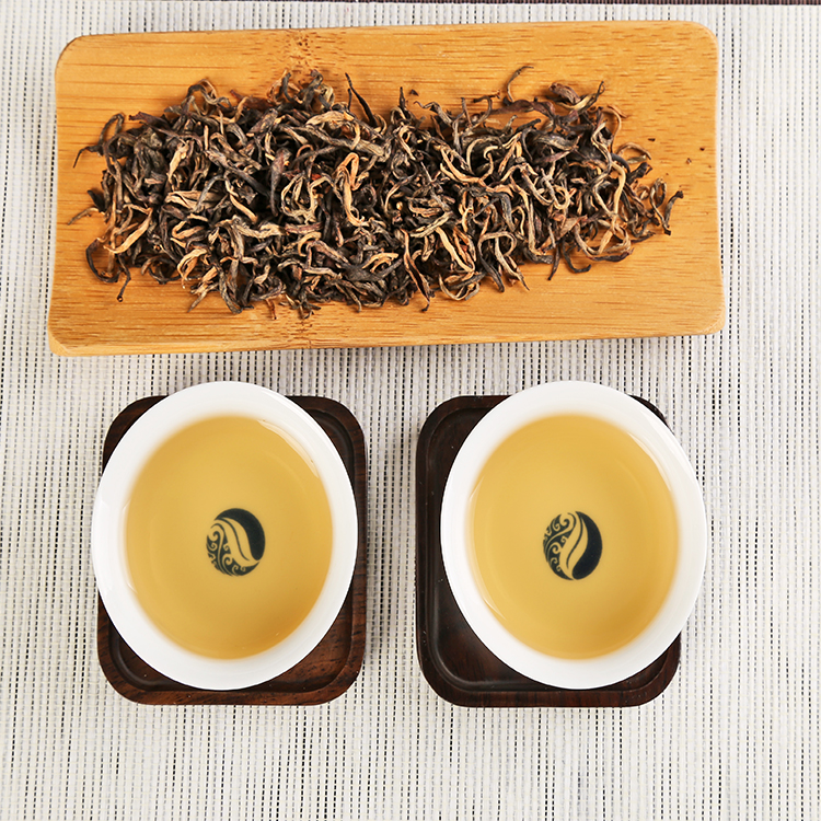 China gift box package huang ya organic yellow tea for drinking