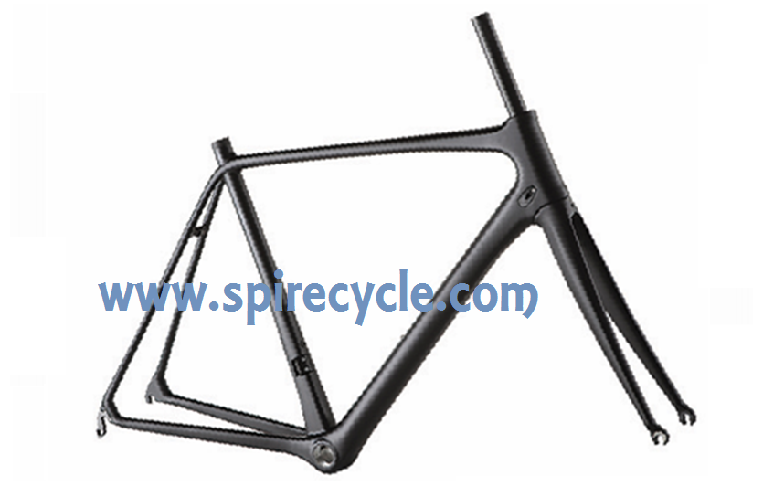 many available sizes full carbon road bicycle wholesale bike frame