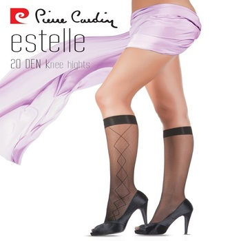 Pierre Cardin Paris Oem Women's Hosiery Collection Elegant Patterned Custom Women's Patterned Tights