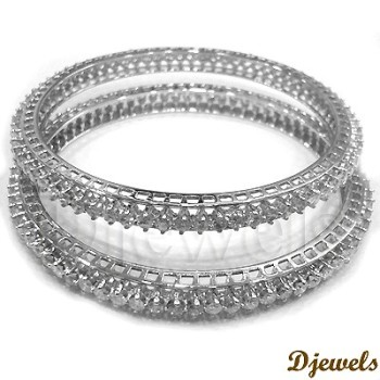 dp bracelet for white gold fine and men cuban curb inch anklet women com amazon chain bangles bangle