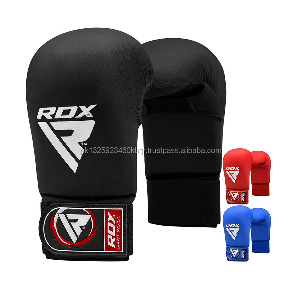 RDX TKD Kick Boxing Taekwondo Gloves MMA Semi Contact Karate Training Muay Thai
