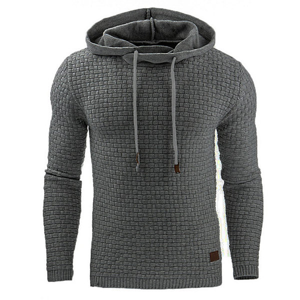 Customized Latest Style Men's Fall Winter Solid Color Casual Sport Hoodies For Men MK-PH-0522
