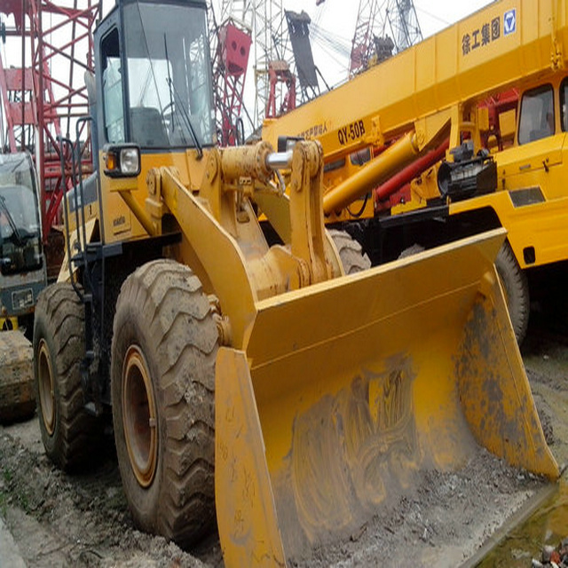 KOMATSU WA380-3 used wheel loader made in japan 4 wheel drive tractor with front loader in shanghai for sale