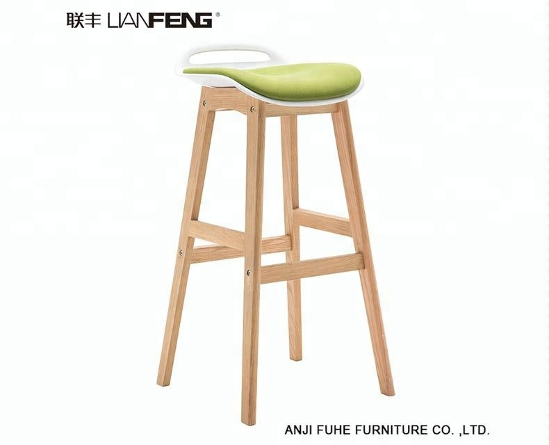Surprising Molded Plastic Seat With Cushion Bar Stool Counter Stools With Natural Wooden Legs For Dining Use Buy Plastic Wooden Counter Stool Corner High Feet Uwap Interior Chair Design Uwaporg