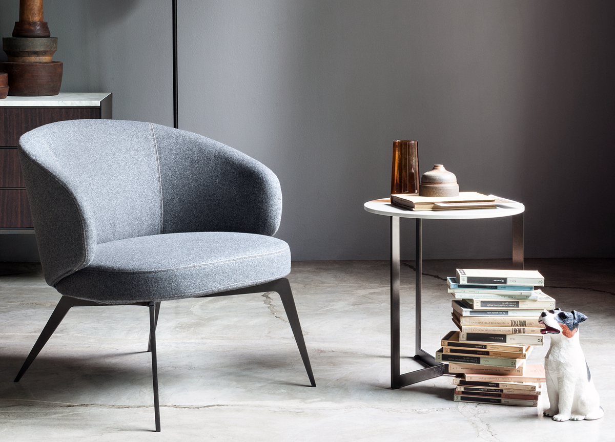 Modern European Style Comfortable Lounge Chair Bice ...