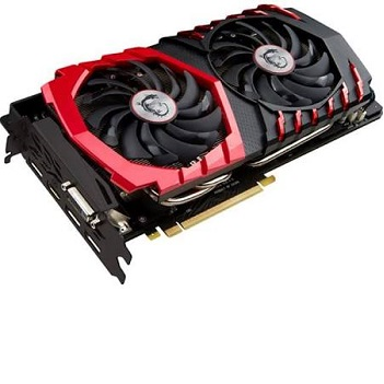NEW 100% AUTHENTIC MSI GeForce GTX 1070 0 GAMING X 8G Graphics Card - 8 GB GDDR5 - 256-bit - 1607 MHz