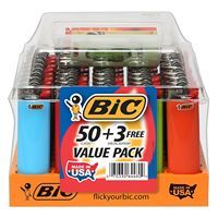 Disposable / Refillable Original Big Bics Cigarette Lighters Mini & Maxi Big Lighters J5 /J6 /J23 /J25/J26