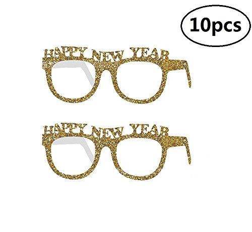 1a1345a82c9 Get Quotations · EBTOYS Happy New Year Party Favor Funny Glasses Party  Sunglasses Party Props Costume Party Supplies