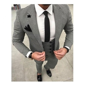 e24b1459c9f 313 Classic Man Coat+Pants+Shirt Slim Performance Stage Clothes Dinner Party  Wear Suits