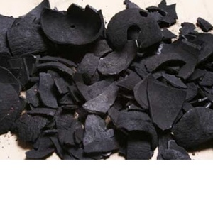 BBQ charcoal from coconut shell for green house.
