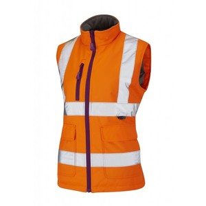 Reflective safety workwear with EN471 reflective safety vest