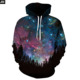 Gratefully Dyed sky star Hoodie - Premium All Over Print Graphics