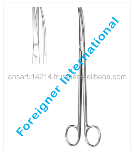 Micro Serrated Blades Sharp Arrow Point Nail Scissors / German Quality Solingen Manicure Scissors