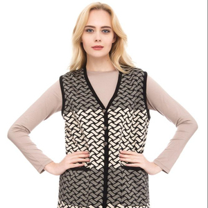 High Quality Best Price Women Knitwear Tunic Vest