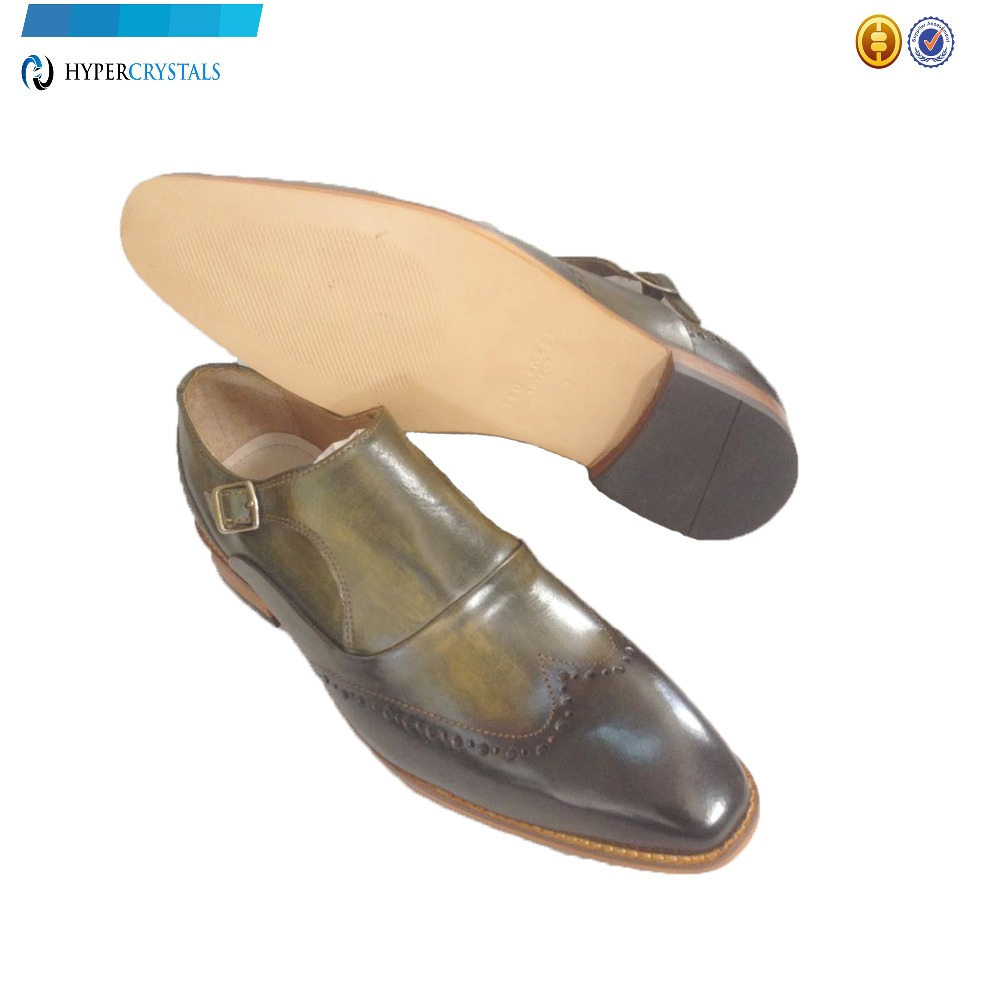 Wholesale in Men shoes Tan style Monk for qAgTxnwq