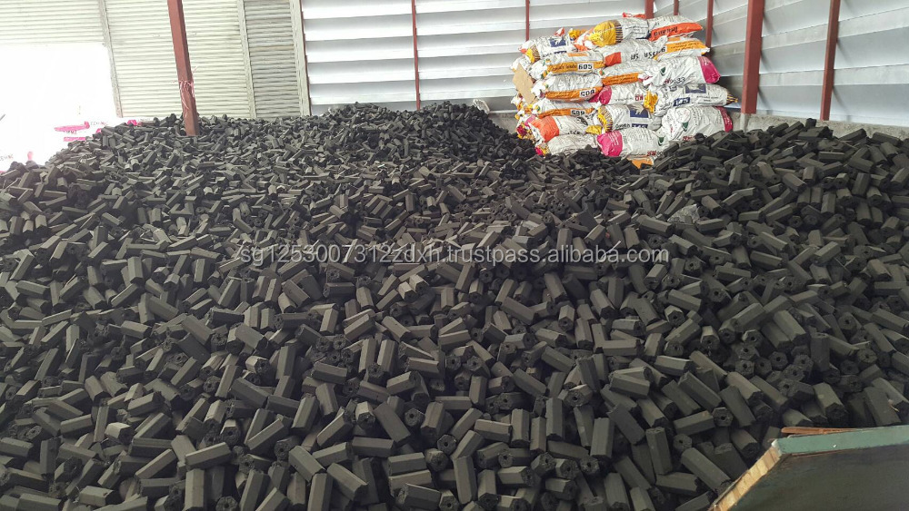 High Quality Charcoal Briquettes and Pillow Shaped Charcoals