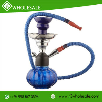 R3 9.5 Inch Tall Glass Hookah