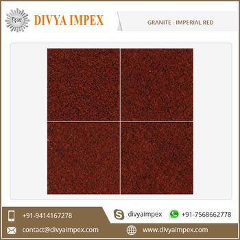 Imperial Red Polished Surface Granite Tiles and Slabs