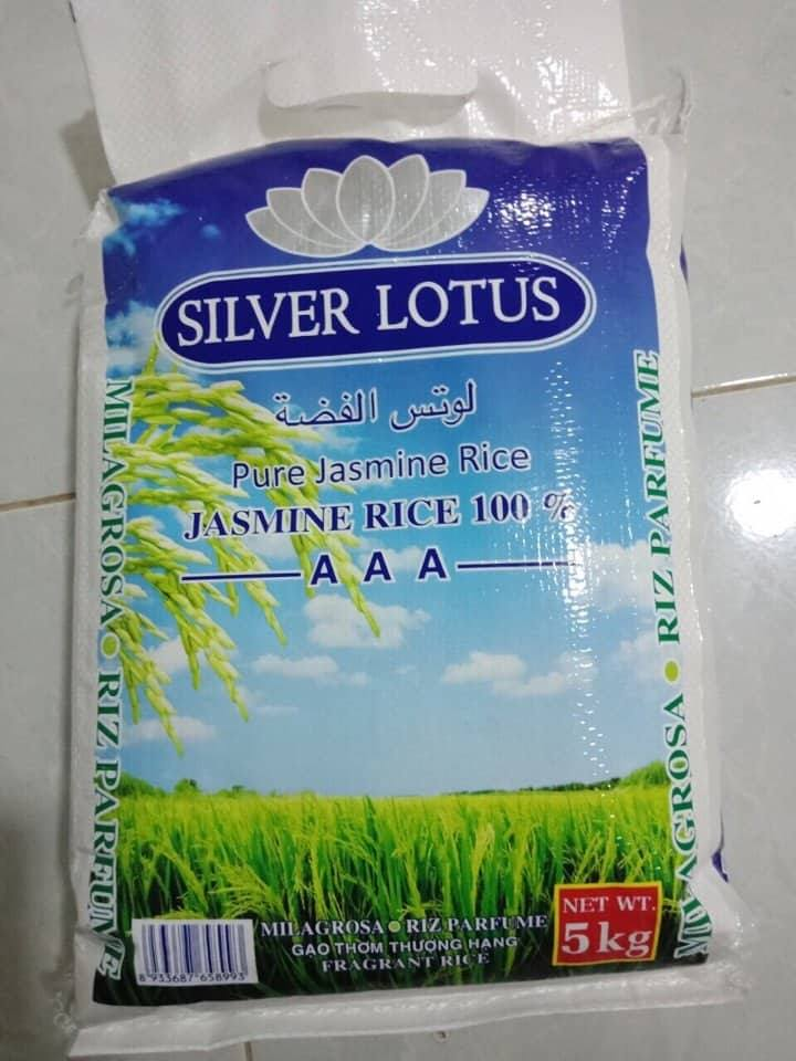 5% BROKEN JASMINE RICE WITH AAA GRADE QUALITY