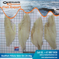 Redfish Fillets Skin On 20-30g