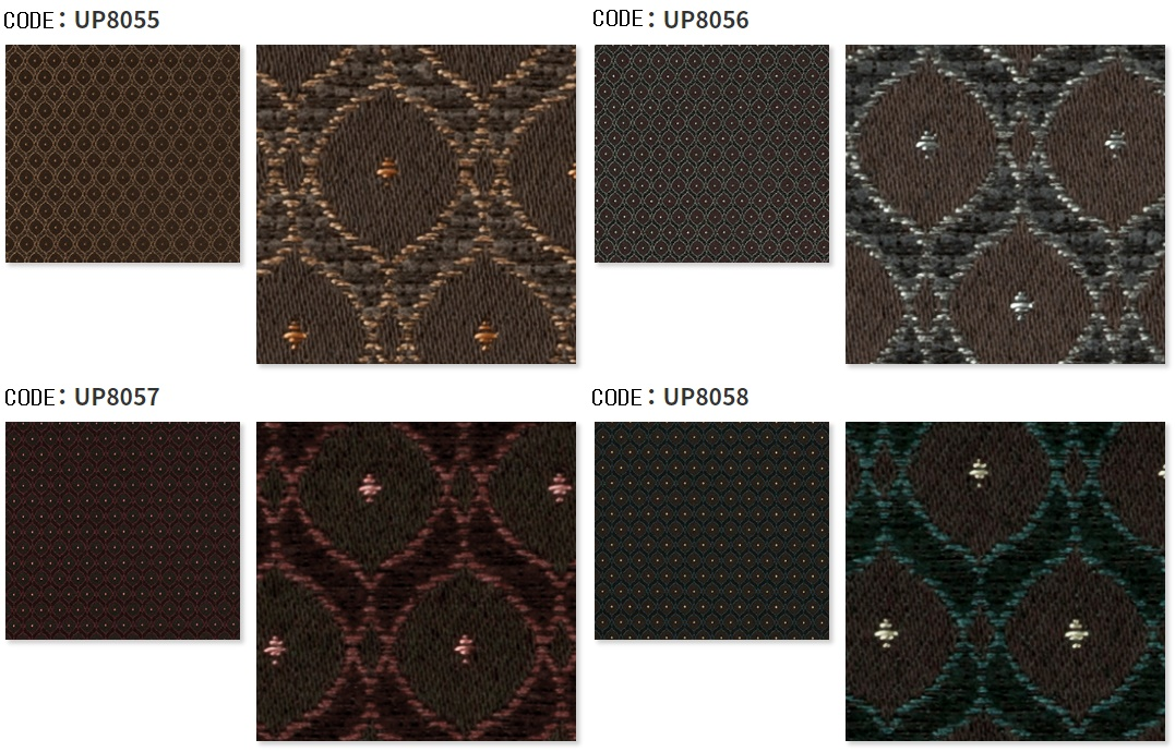 UP8055 - UP8058, 4 Colors REGULUS, Sangetsu Upholstery, Free Sample Available