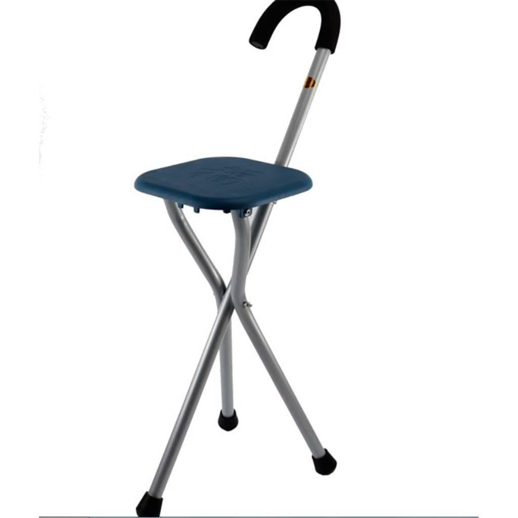 MOXIN Cane seat walking stick seat canes three-legged stool chairs for the elderly the elderly walking stick stool , a , tripods stick stool stool
