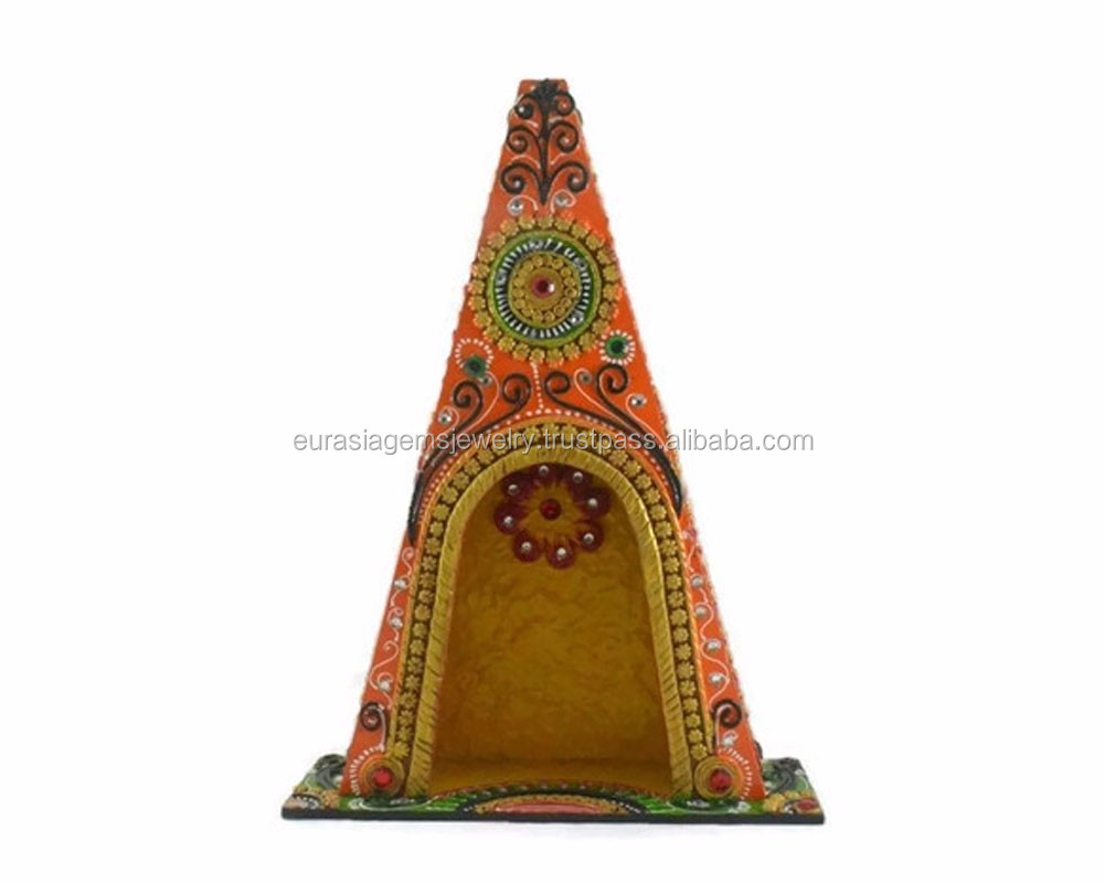 Wholesale Handmade Beautiful Decorative Gift Wooden Temple Design ...