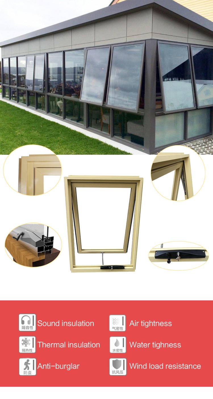 Maize Yellow Chain Winder Aluminum Awning Window - Buy ...