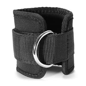 weight lifting ankle straps Adjustable Ankle Straps for Cable Machine Neoprene Padded Ankle Cuff