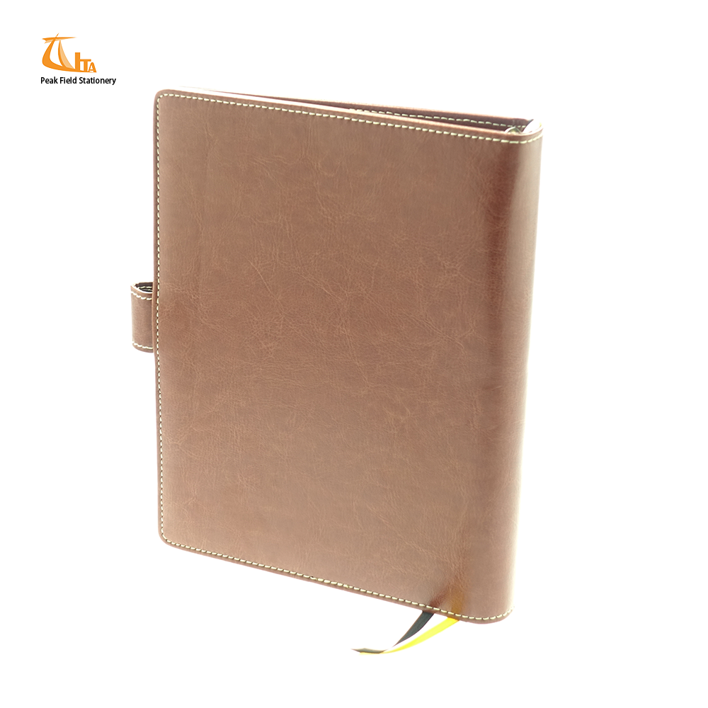 High Quality Uk Embossed Engraved Leather Diaries Planner