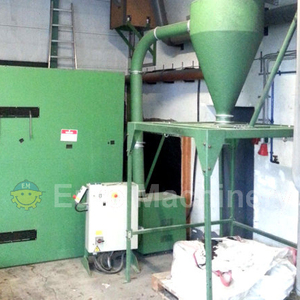 High output Rapid granulator for recycling plastics films