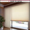 HONEYCOMB SCREEN, single standard type saves utility cost by hexagonal air layer & thermal insulation, made in Japan