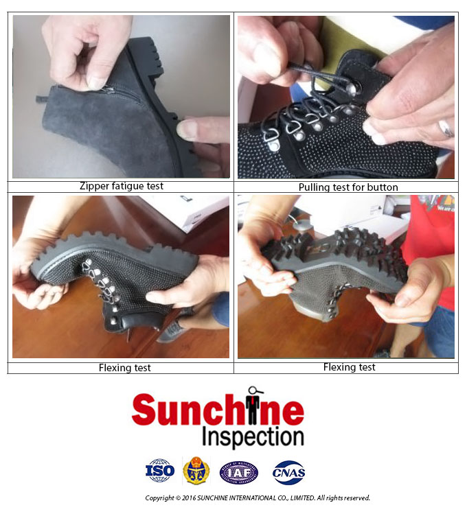 Shoes Third Party Inspection / Footwear Testing, Quality Control, Inspection in China & Asia