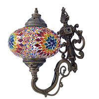 Turkish Mosaic Wall Lamp, Moroccan Lamp, Wall Sconce, Home, Decoration, Cafe, Restaurant, Otel