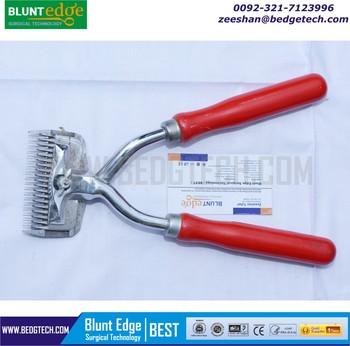 TERBAIK Manual Gunting Rambut Hewan Peliharaan Mendorong Tangan Alat Cukur  Kayu Menangani 723e4c55f5