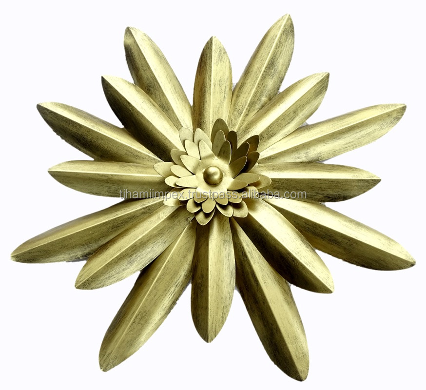 Flower Metal Wall Decor In Antique Finish View Art Tihami Impex Product Details From On Alibaba