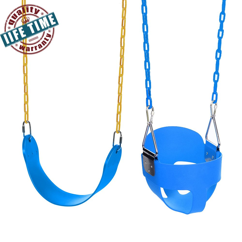 Get Quotations Ancheer Toddler Swing Seat High Back Full Bucket And Heavy Duty Replacement Accessories