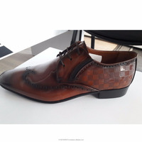 Fashion Men's Cow Leather Business Shoes Male Breathable Dress Shoes