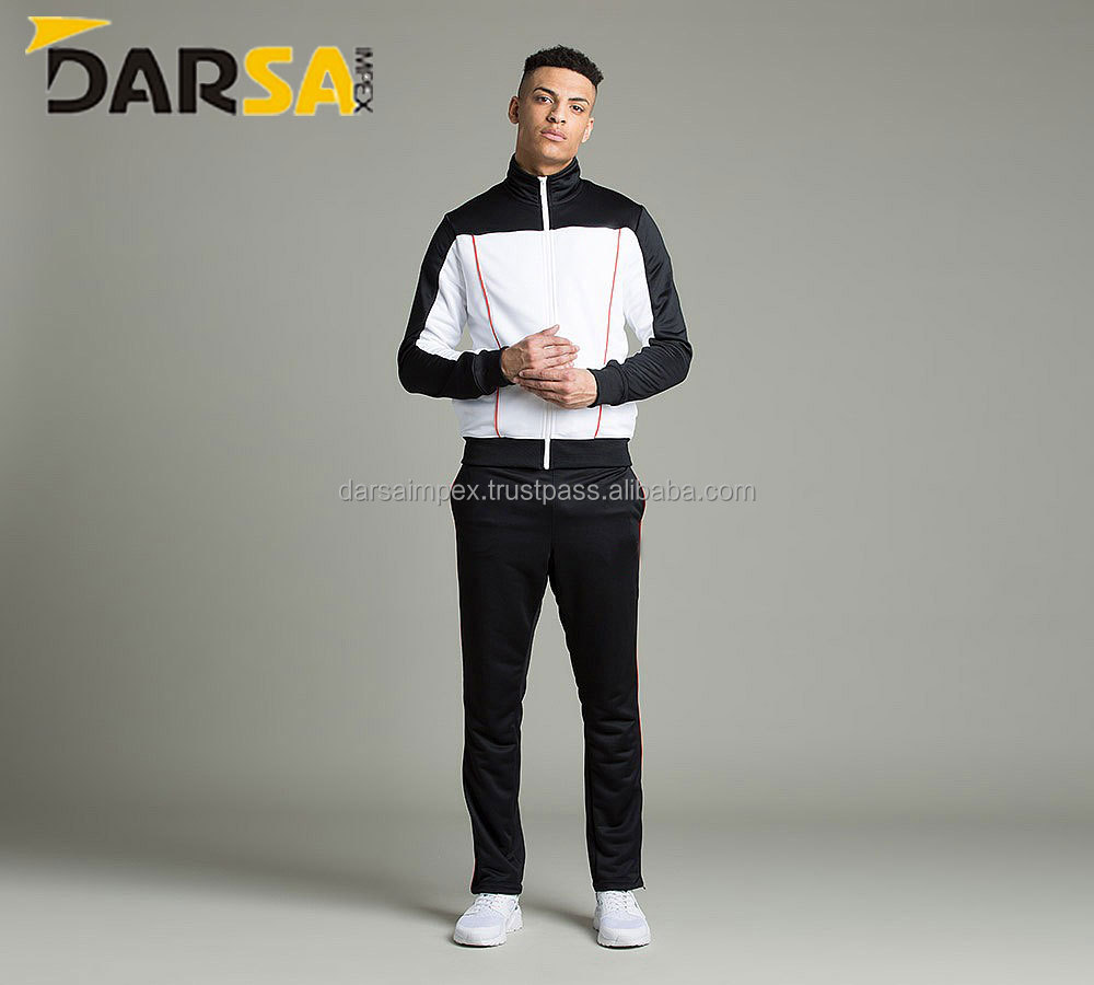 breathable Tracksuit for man 100% polyester