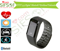 SIFIT-3.3 Digital Bluetooth Wristband Pedometer with API