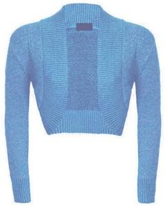 Women's Plus Size Ladies Shrug Long Sleeve Sweater