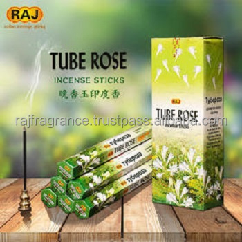 TUBE ROSE INCENSE STICKS