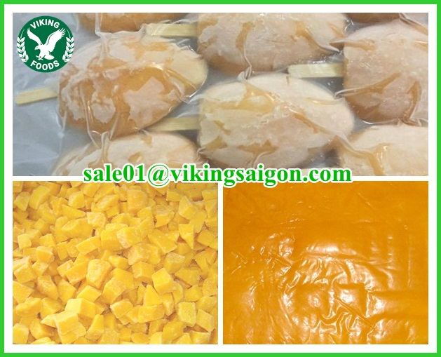 FROZEN CHU MANGO HIGH QUALITY, COMPETITIVE PRICE