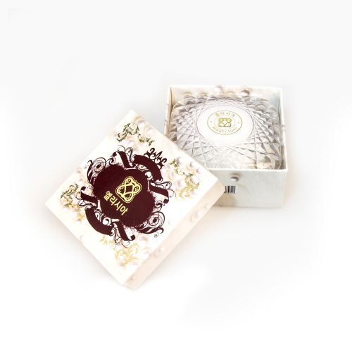 Famous Brand in Korea ELISIA Pearl Beauty Soap