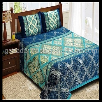 2017 Wholesale hot sale cheap velvet bedspread bedding set bed cover