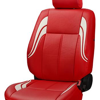 Auto-protector asientos ya referencias fundas para asientos rojo set de poliéster alta calidad